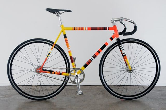 PlasconNCW ideas: Spray Paint your Bicycle in rainbow colours ...