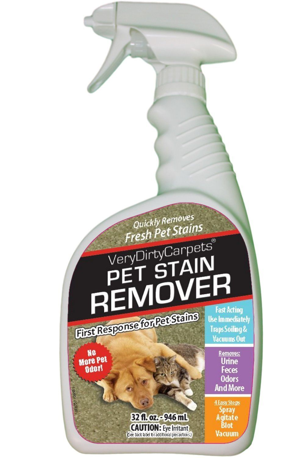 Pet Stain Remover Odor Eliminator Puppy Training First