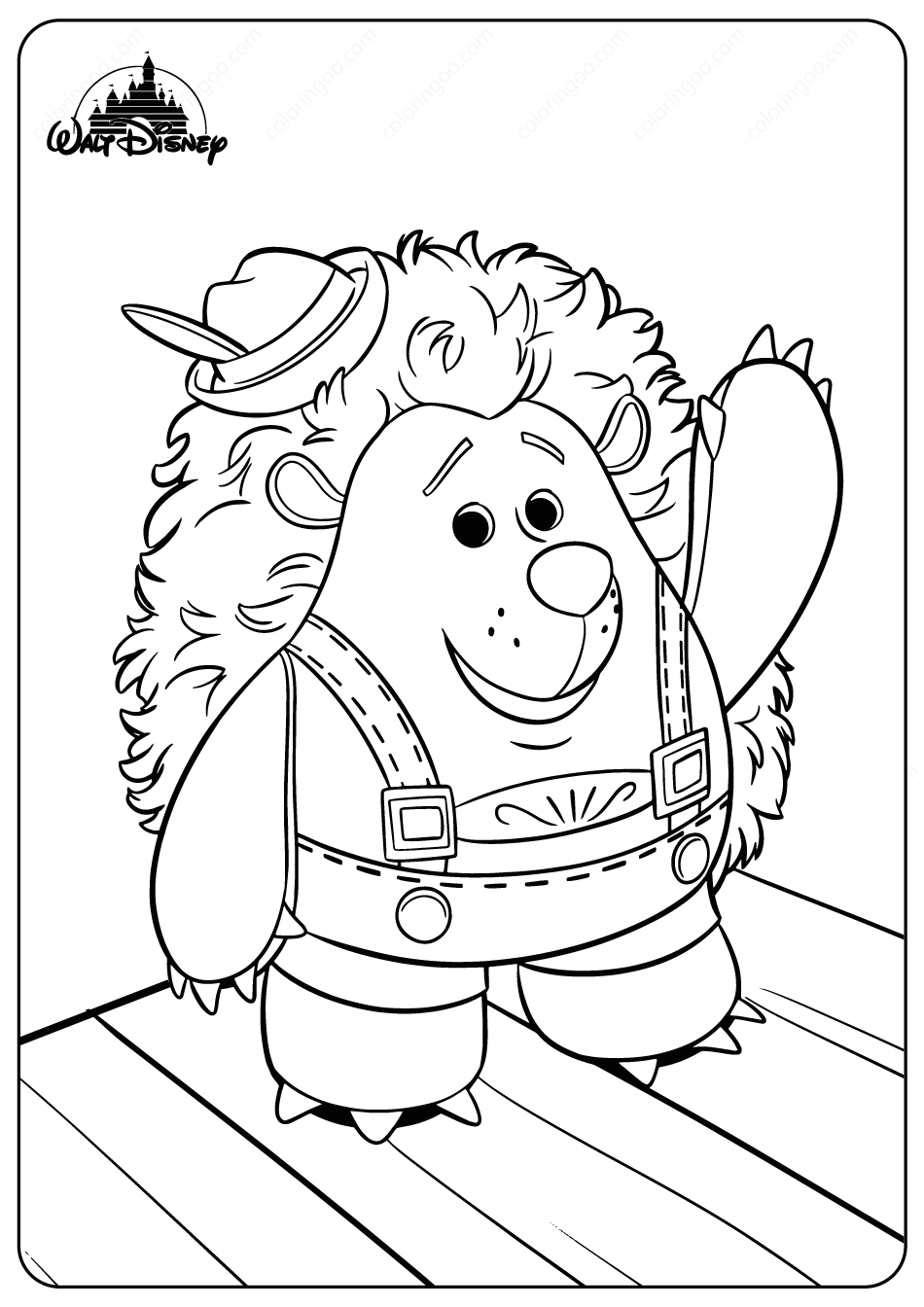 Mr Prinklepants Coloring Pages Coloring Pages Disney Toys Disney Drawings