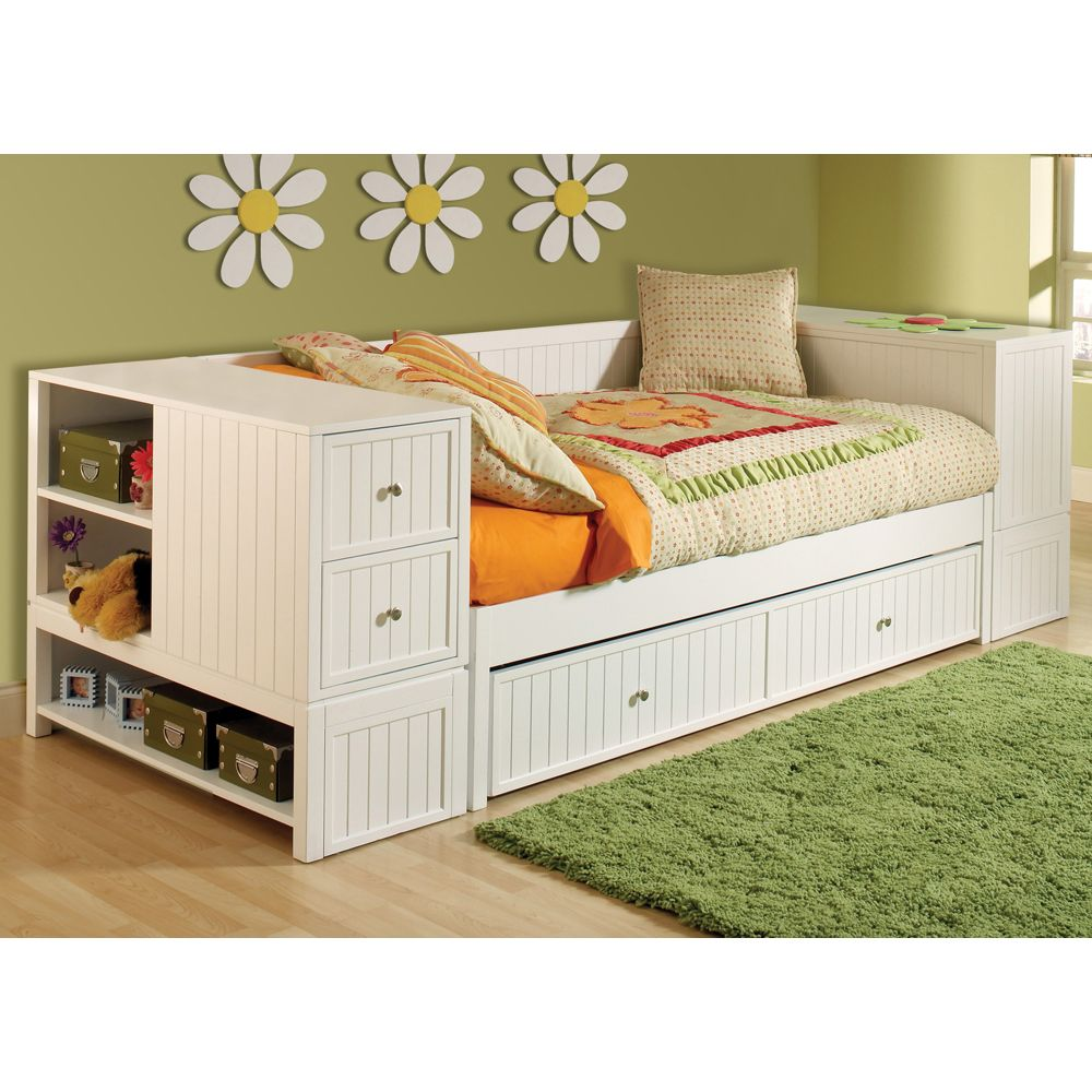 Cody Daybed Trundle Amp End Chest Storage Hillsdale