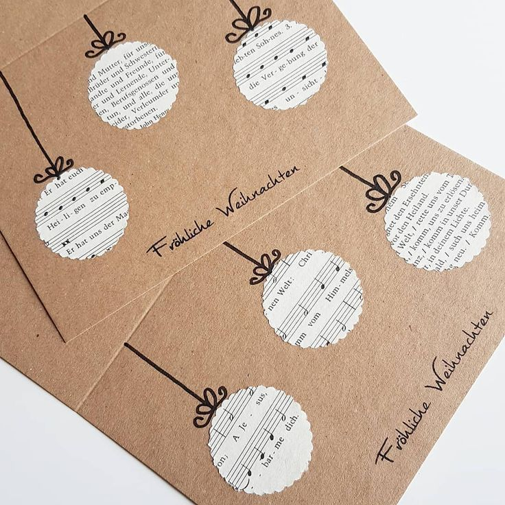How do you like this Christmas card with punched out Christmas tree balls from t