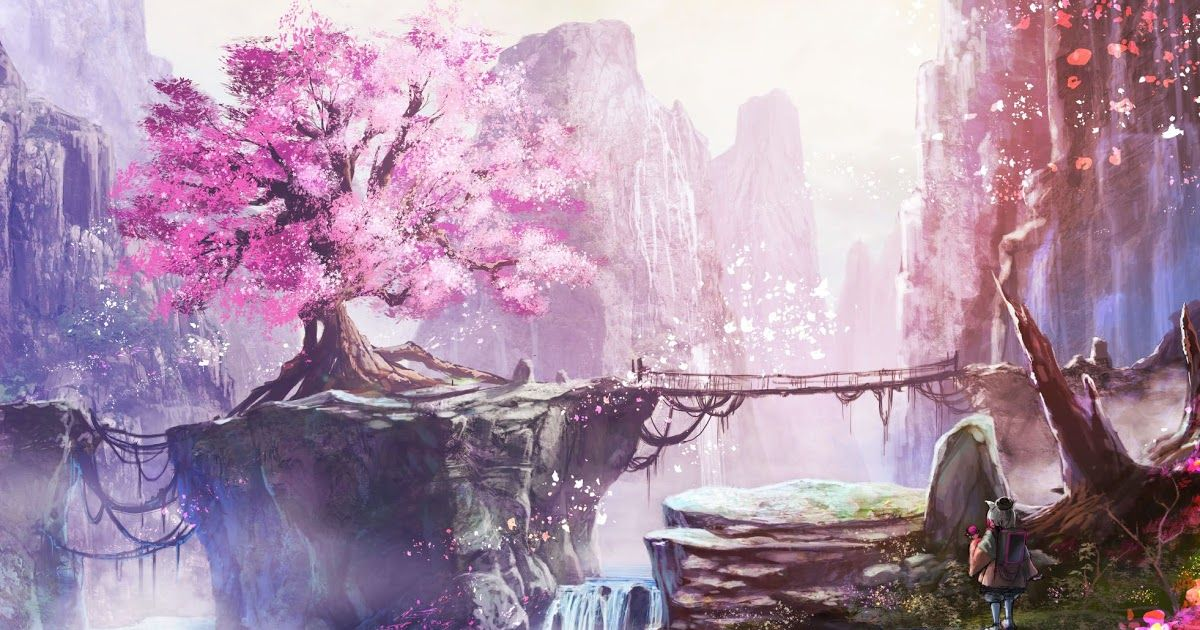 We Carefully Pick The Best Background Images For Different Resolutions 1920x1080 Iphone 5678x Full In 2020 Anime Cherry Blossom Cherry Blossom Wallpaper Anime Scenery