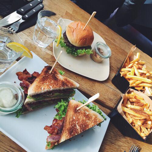 comida elegante via tumblr sandwich