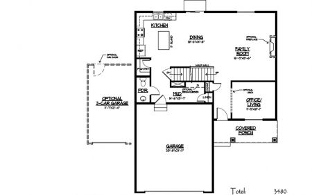 Candlelight Homes Tahoe B Plan New Homes For Sale Home Builders House Floor Plans