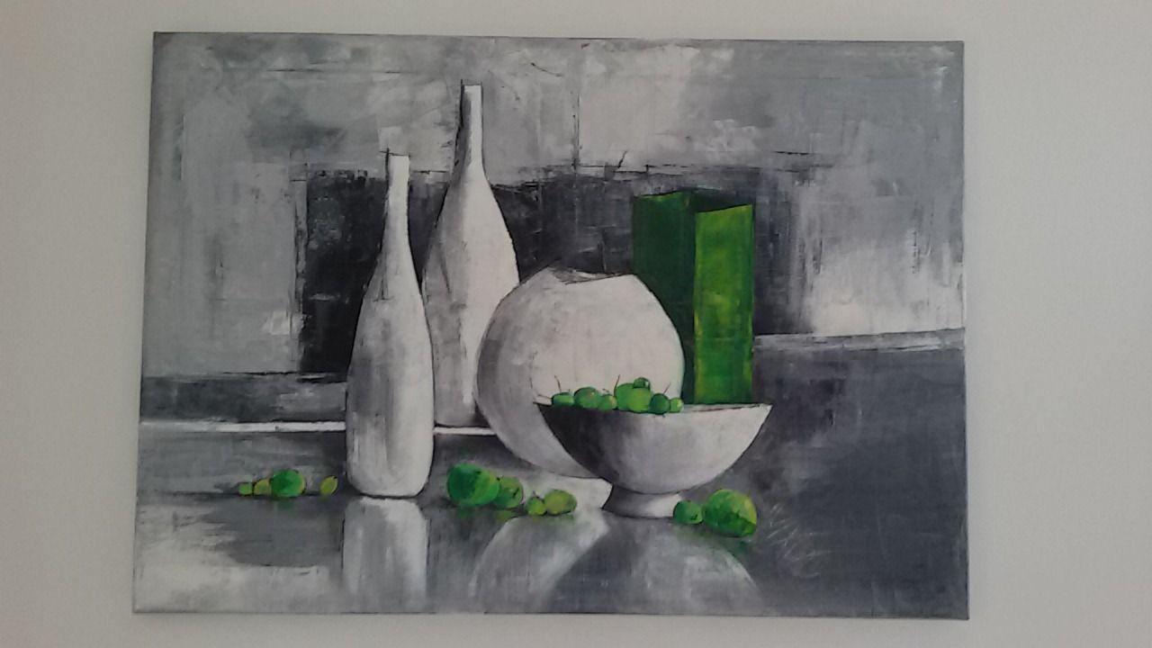 Tableau Nature Morte Moderne Artiste Sanpao Style Art