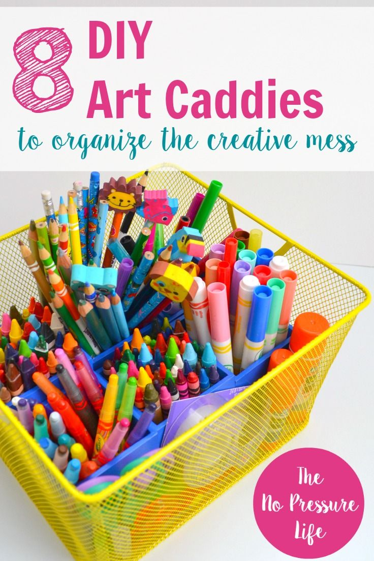 8 diy art caddy ideas that will organize your creative