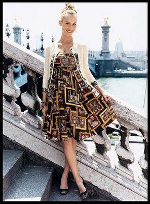 3581754d2f J. Crew library print dress