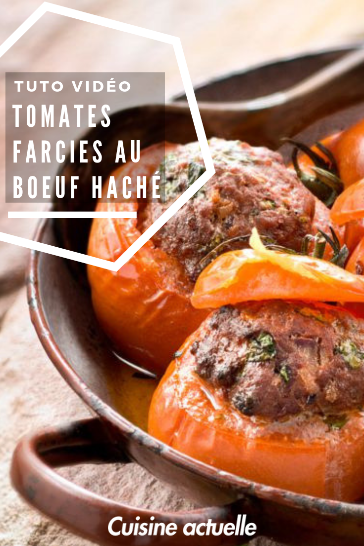 Tomates Farcies Au Boeuf Hache Recette Tomates Farcies