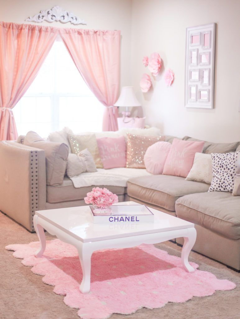 The Most Girly  Pink Decor For A Feminine Home  Shabby
