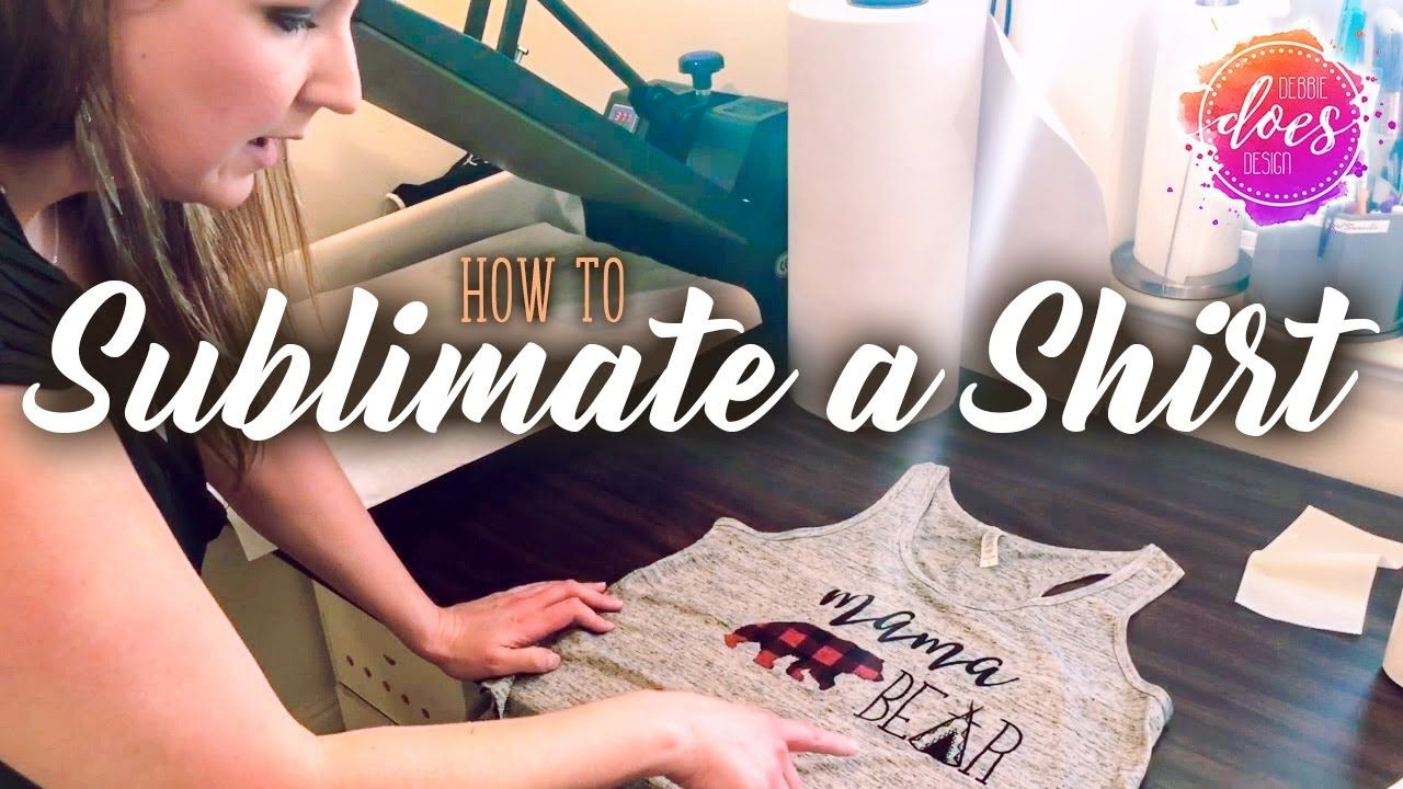 How to sublimate a shirt sublimation transfer tips