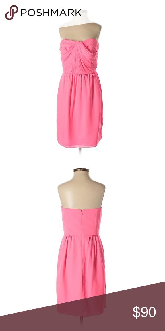 "2858e35b50d Shoshanna Strapless Cocktail Dress Party Dress 28"" Chest"