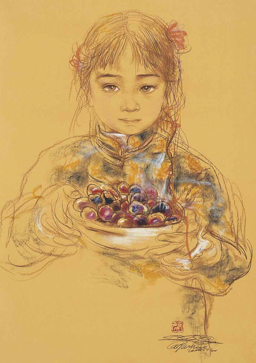 Cai Yushui, 1963 | Ink wash Figurative painter | Tutt'Art@ | Pittura * Scultura * Poesia * Musica |