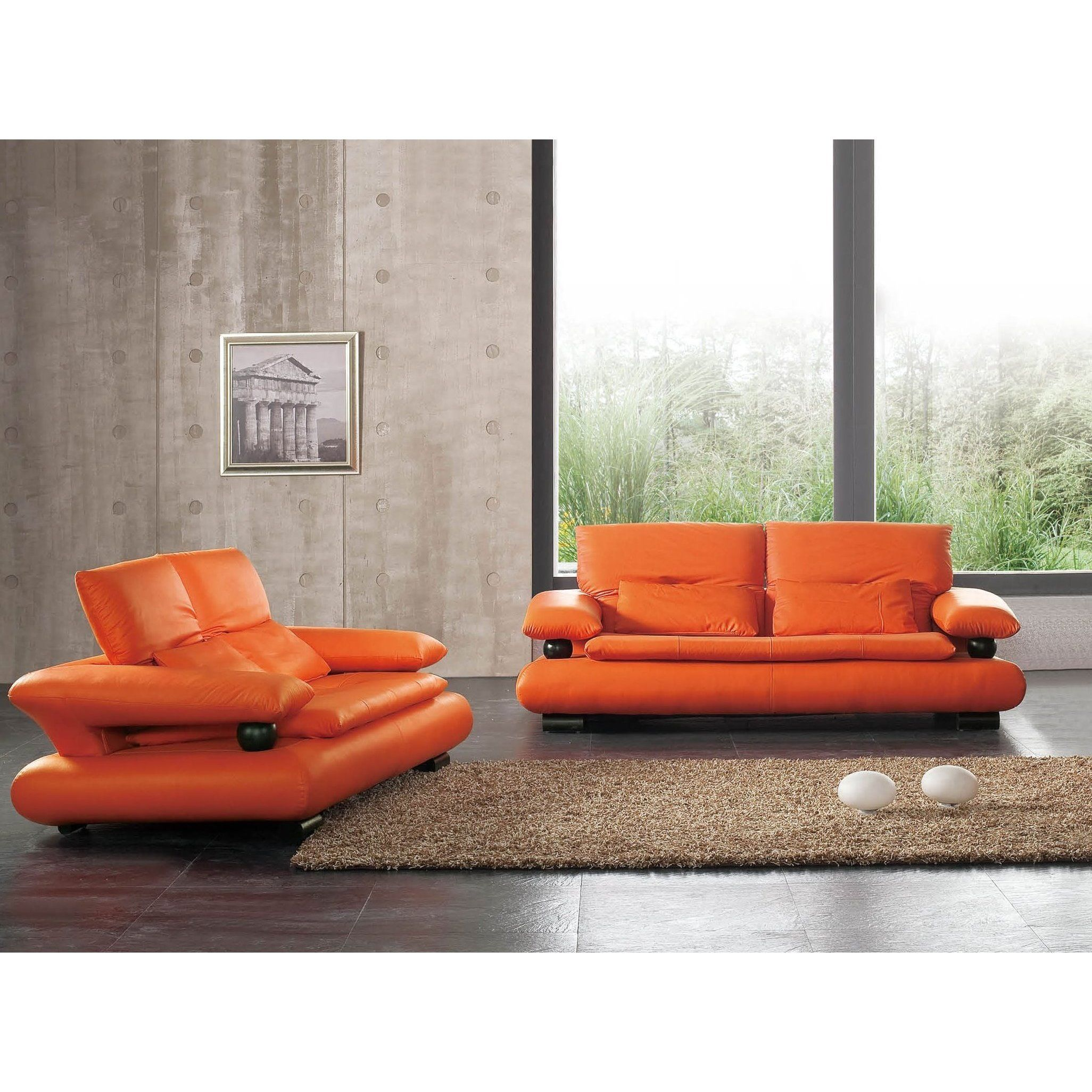 Miraculous Luca Home Sofa And Loveseat Combo S Small Dailytribune Chair Design For Home Dailytribuneorg