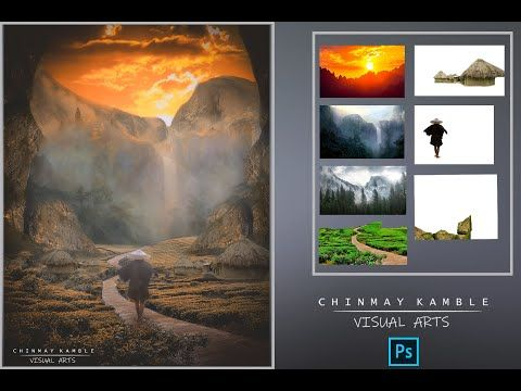 Photoshop Matte Painting Matte Painting Photoshop Tutorial Fantasy Photoshop Tutorial Graphics