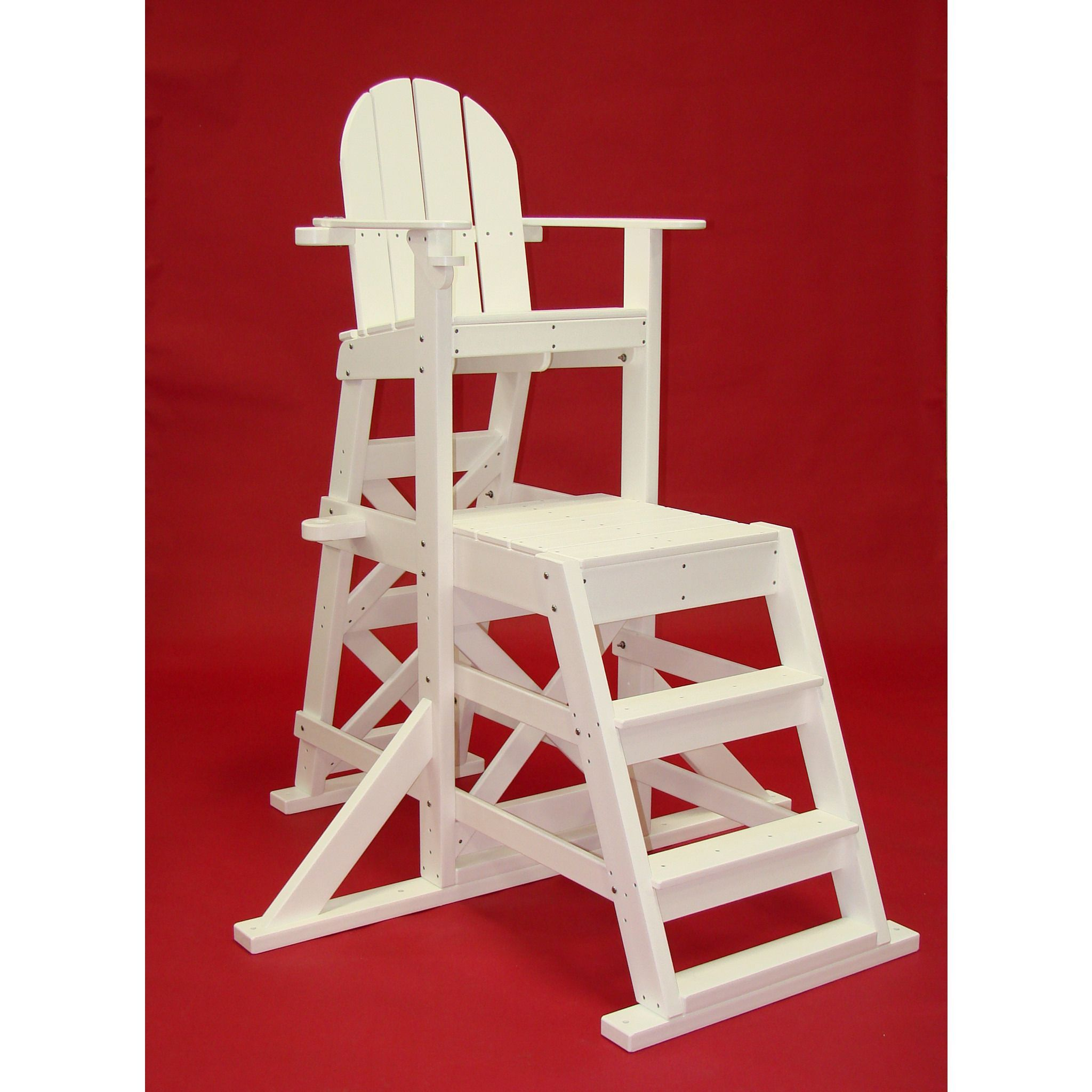 Tailwind Furniture Recycled Plastic MLG525 Medium Lifeguard Chair With  Front Ladder
