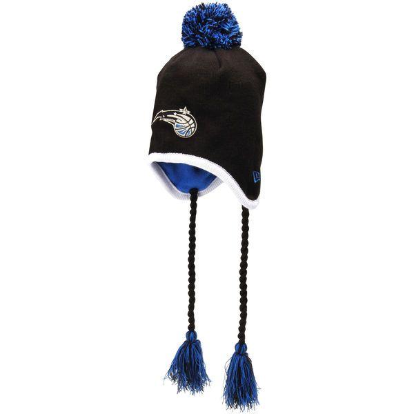 New Era Orlando Magic Team-Tone Tassle Knit Hat - Black - $13.99