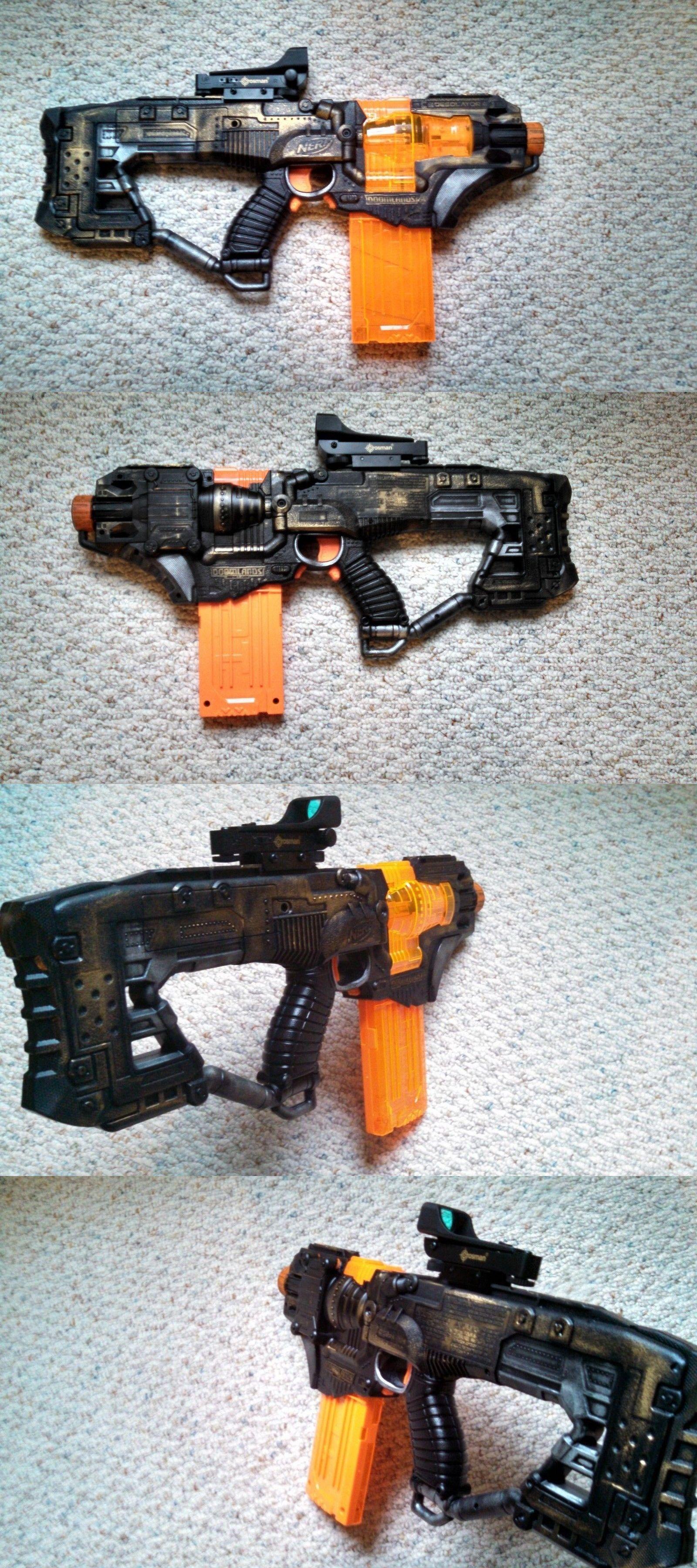 Dart Guns and Soft Darts 158749: Highly Modified Steampunk Nerf Desolator  -> BUY IT