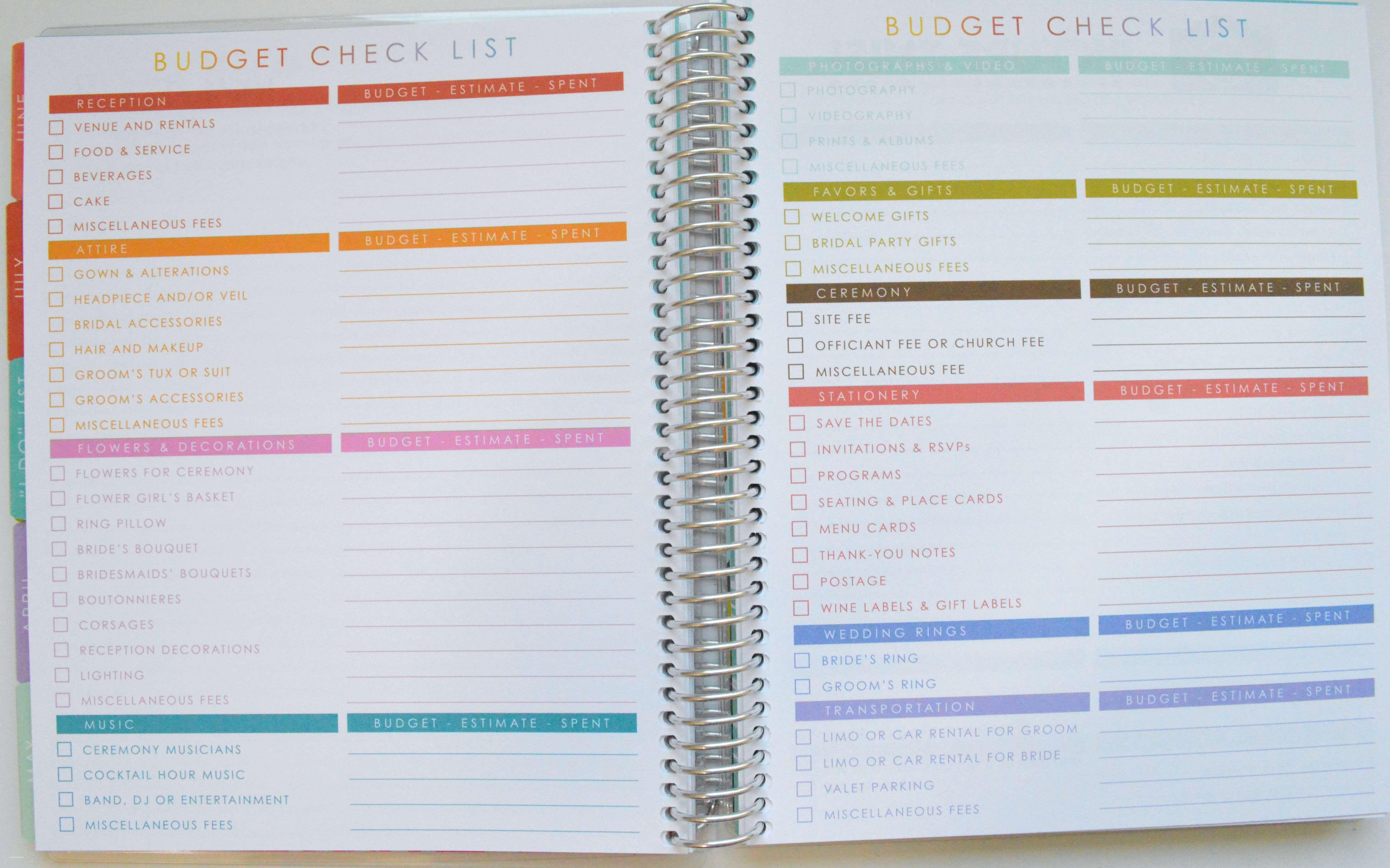 awesome detailed wedding planning checklist wedding ideas update