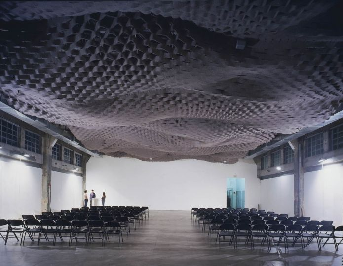 Hearing Fabric Fabric Architecture Quiet Ceiling