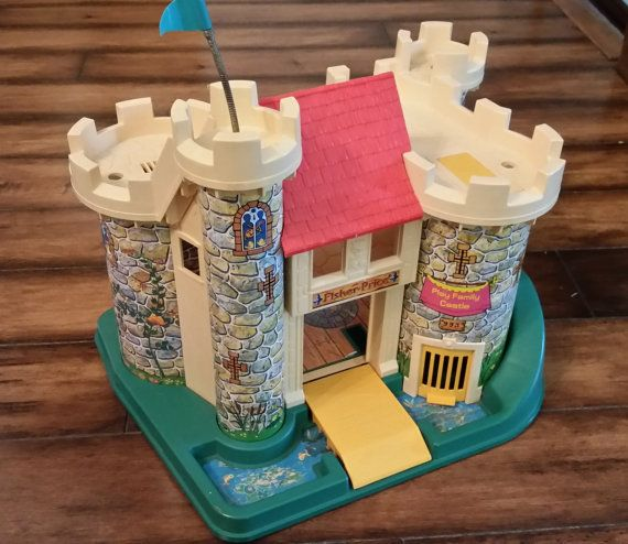 Vintage Fisher Price Castle by AlchemyCollectibles on Etsy