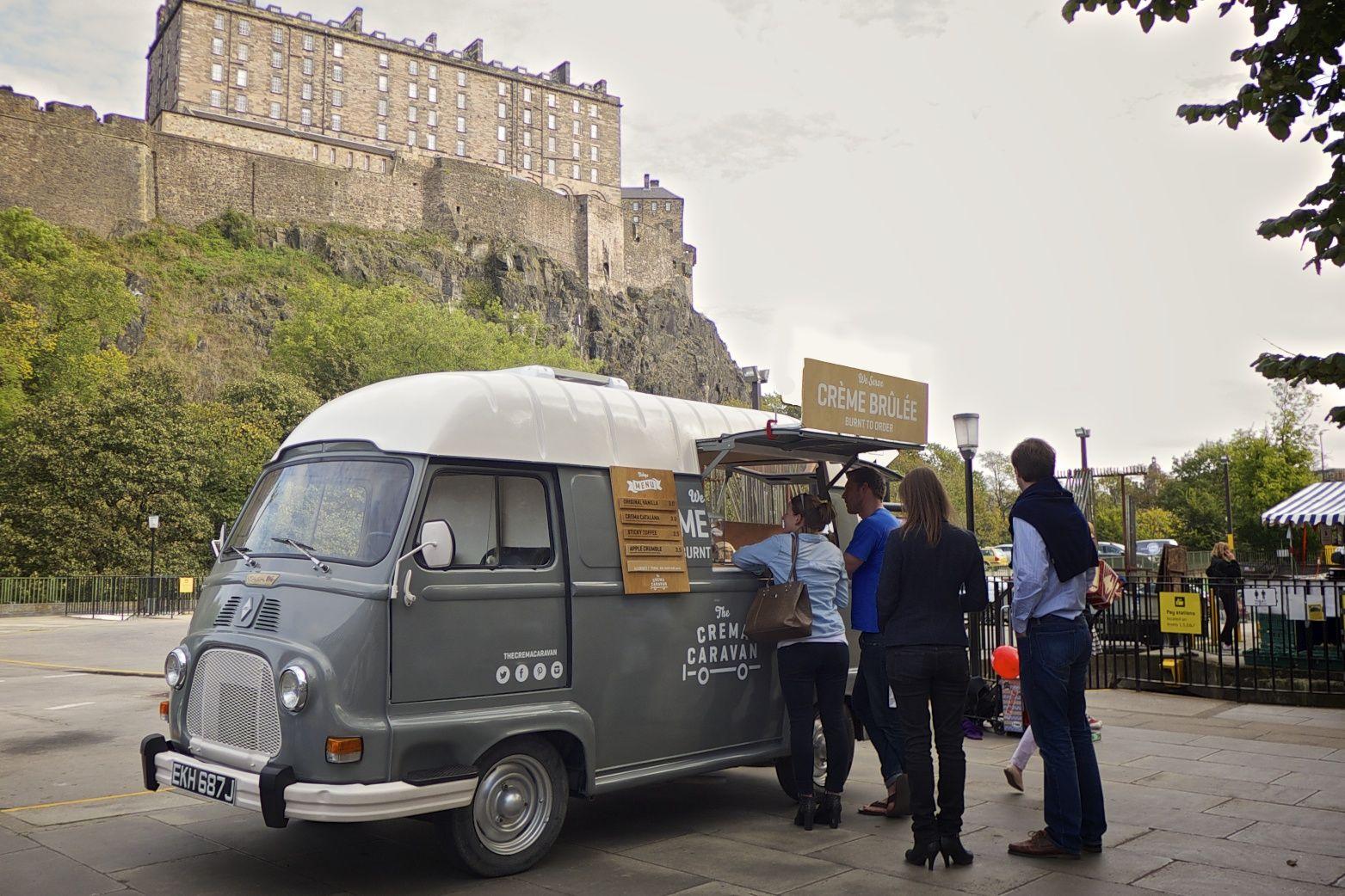 Florence at @edfarmersmarket  #Farmers Market #foodtruck #StreetFood #Edinburgh  #Renault #Estafette #vintage #van