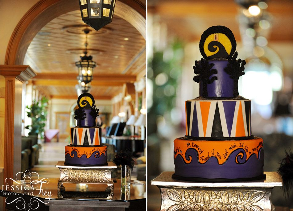halloween wedding 21 Cakes (Nightmare Before Christmas