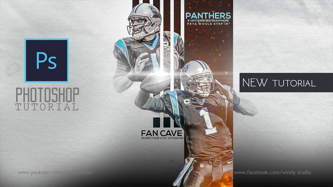 Adobe photoshop tutorial l sports poster design l panthers adobe photoshop tutorial l sports poster design l panthers baditri Gallery