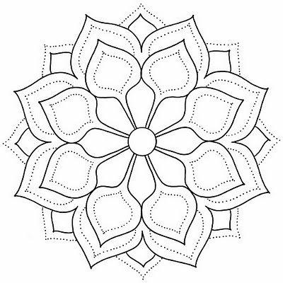mandalas muy bonitas | Entrada, Mandalas y Bordado