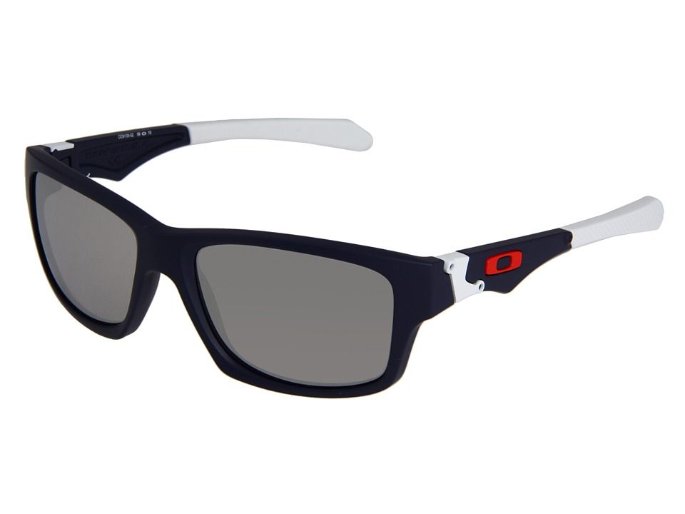 e931e54fa7d shopping oakley oakley jupiter squared iridium matte navy chrome iridium  lens athletic performance sport sunglas.