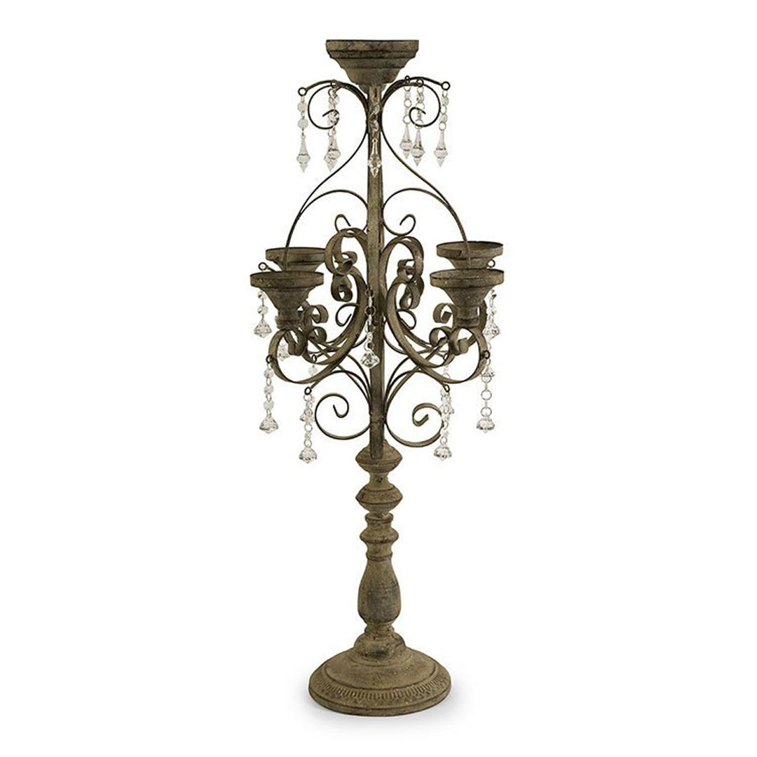 Tracy Candle Chandelier Tabletop Candle Chandelier Candle
