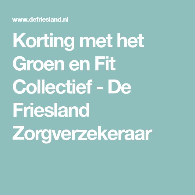 Friesland zorgverzekeraar online dating