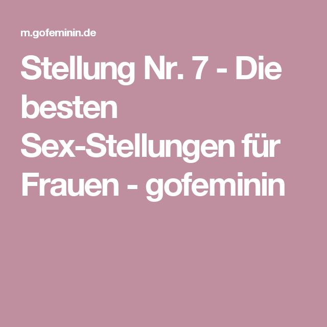 Beste Gefühl Sex Positionen für Frauen