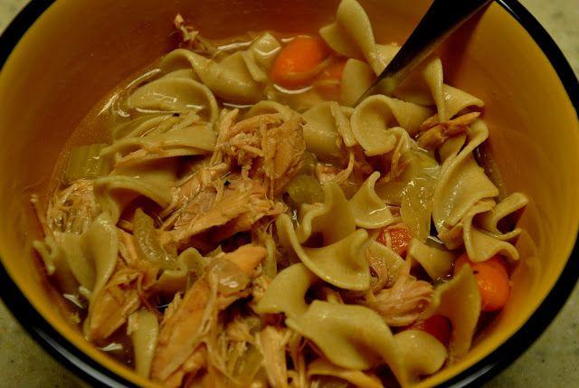 Crock-pot Chicken Noodle Soup