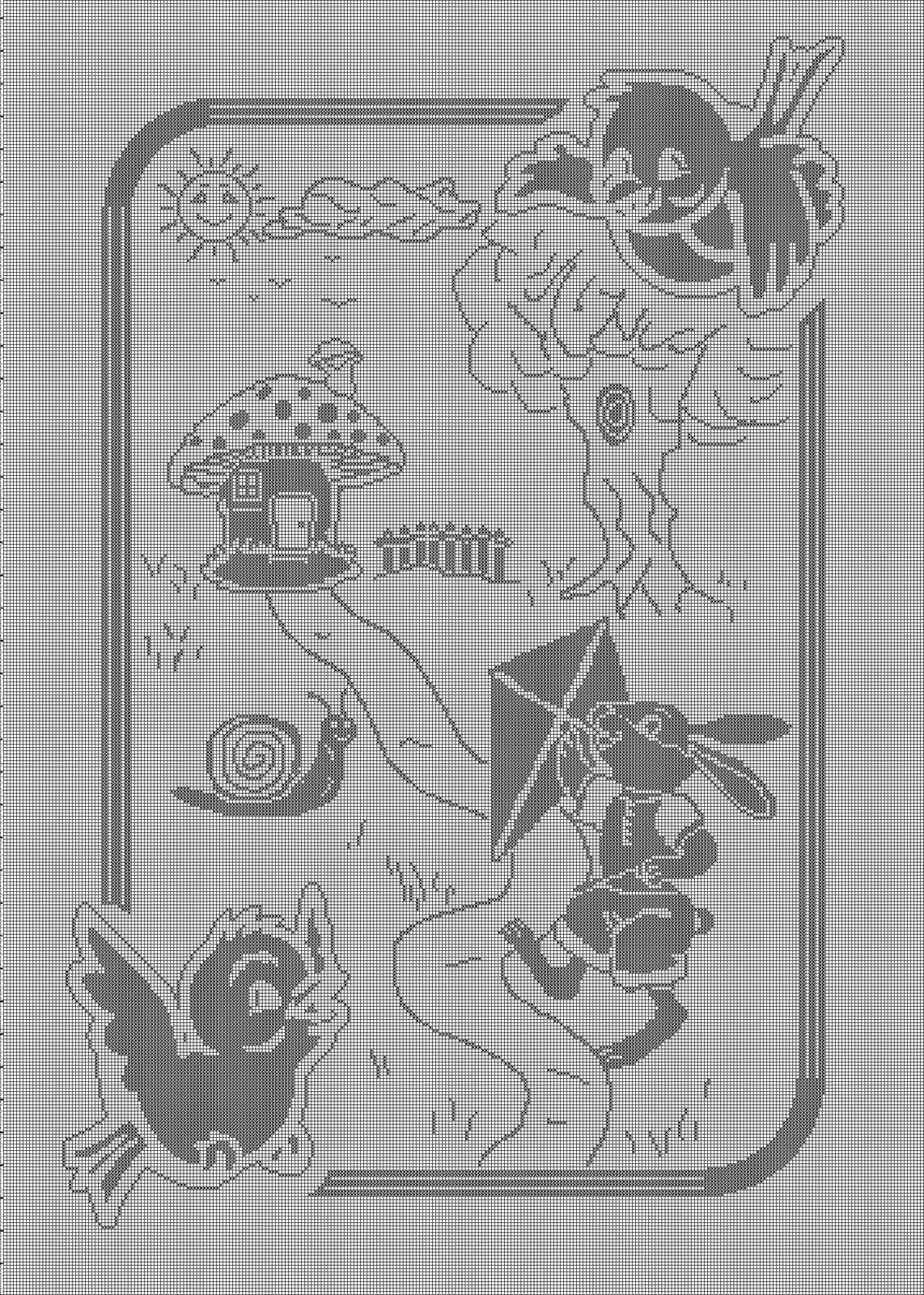 abbastanza copertina filet animali del bosco | Progetti da provare  XC28