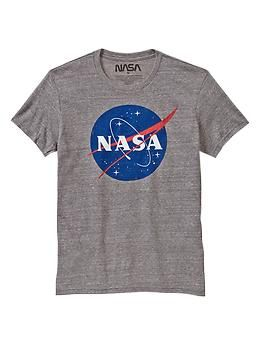 f43fd6d82dc7 Gap NASA T | wardrobe | Tops, Shirt shop, Mens tops