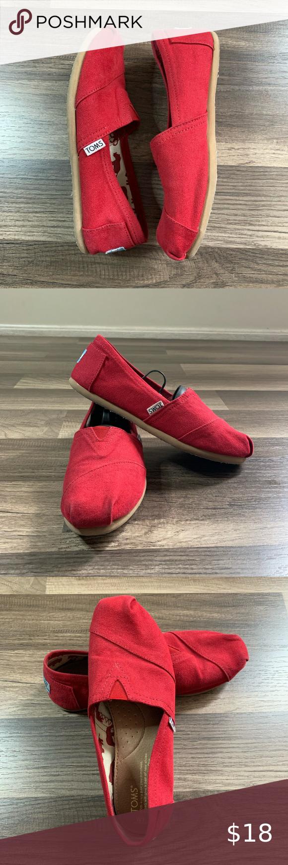 Women's TOMS Canvas Slip On Shoes Women
