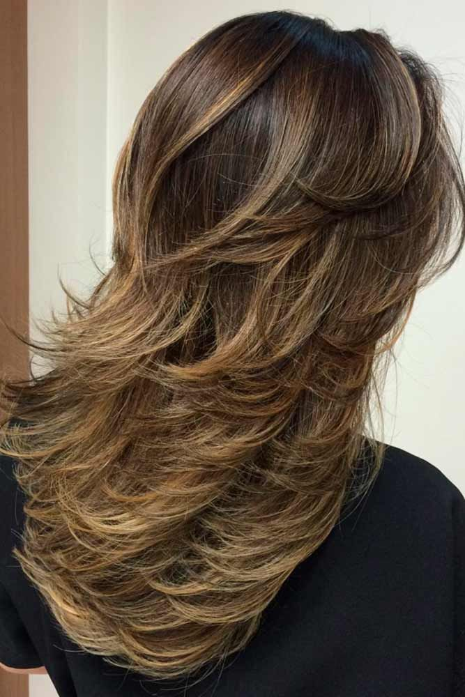 24 Amazing Layered Haircuts For Long Hair Pinterest Layer