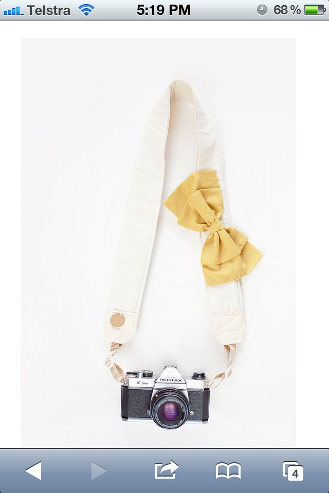 I'm in love with my camera strap!!