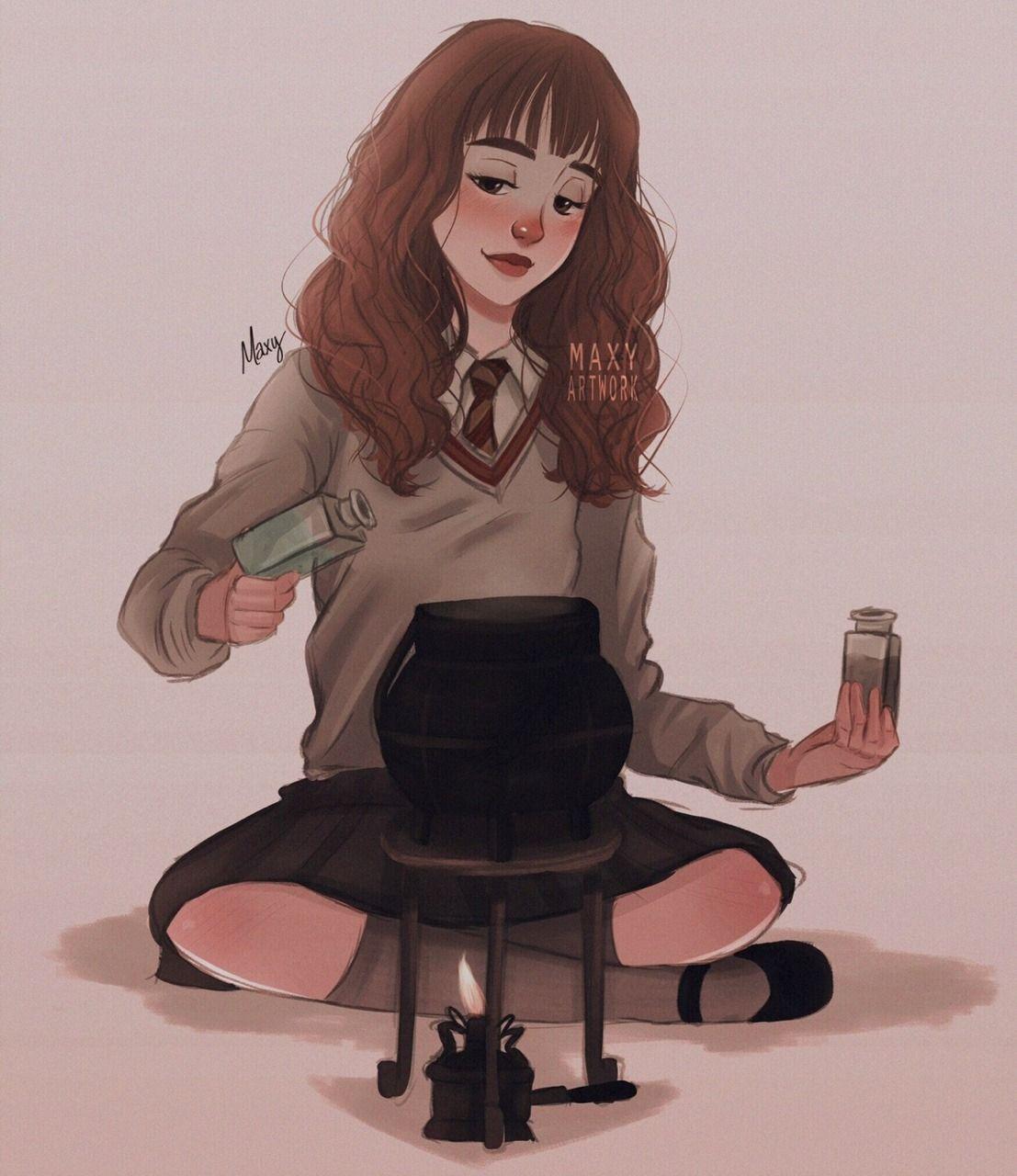 Bildergebnis für hermione granger fanart