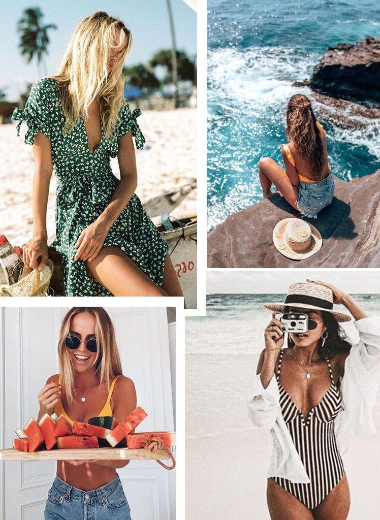 006f7139e Tendências Moda Praia Verão 2019: saída de praia + acessórios de praia