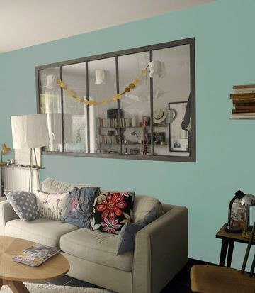 Peinture salon : 30 couleurs tendance pour repeindre le salon | La ...