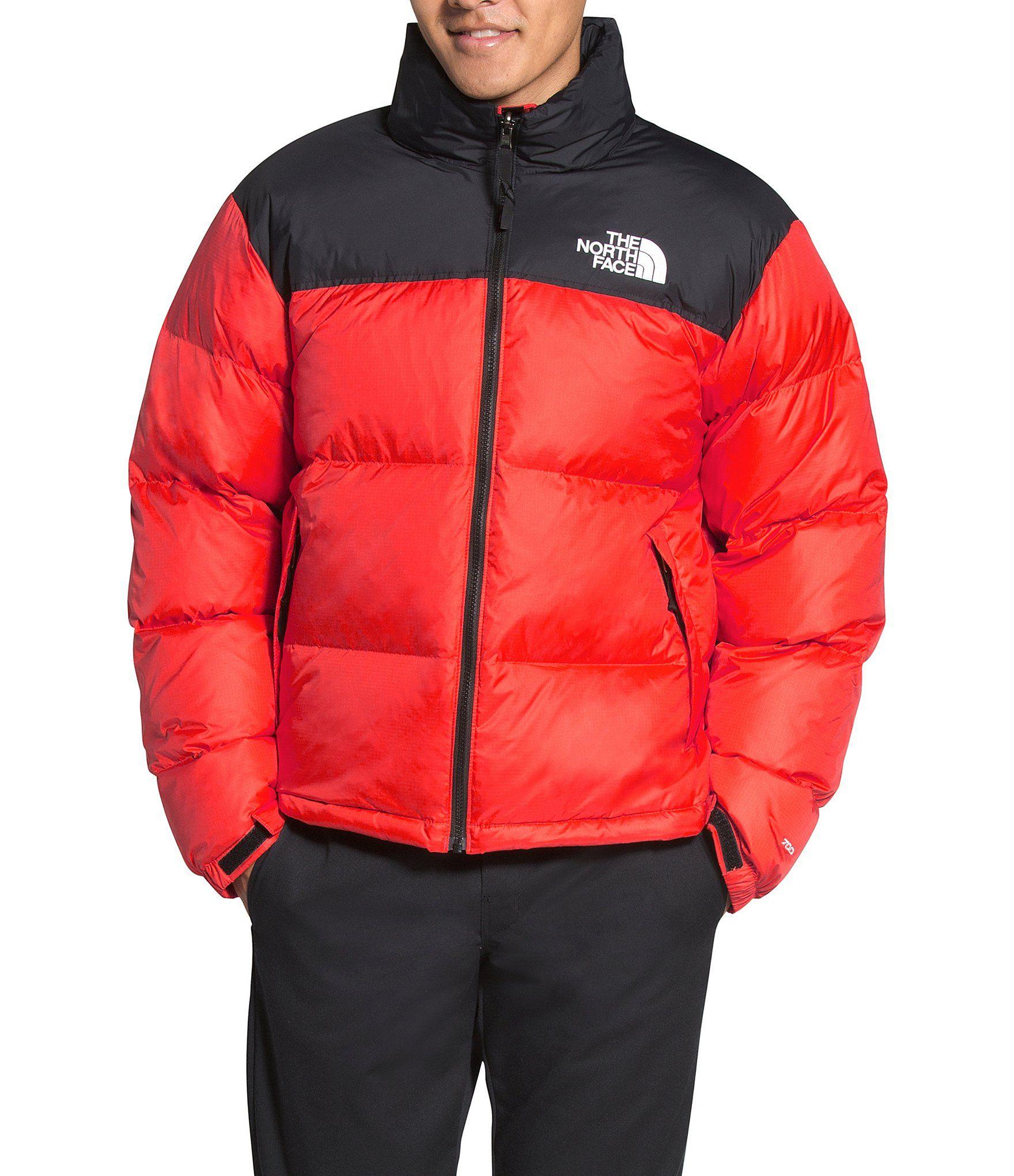 The North Face Out Retro Nuptse Summit Go Zip Front Jacket Dillard S North Face Mens Retro Jacket North Face Jacket [ 2040 x 1760 Pixel ]