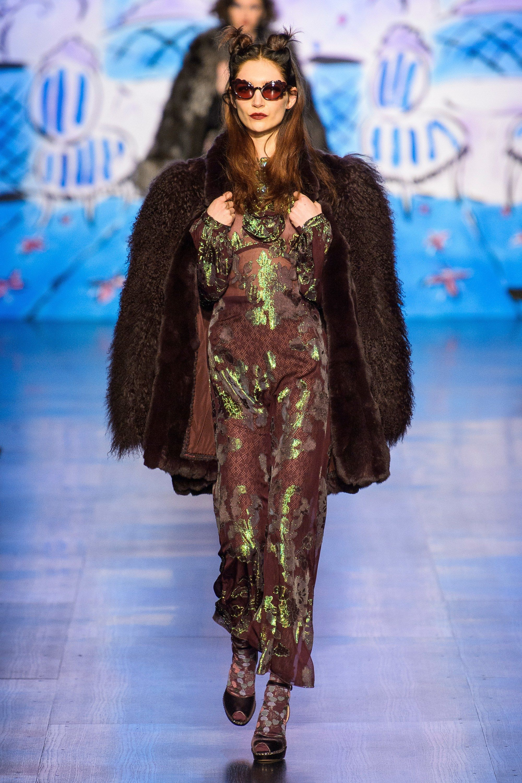 Anna Sui Fall 2017 Ready-to-Wear Fashion Show - Janice Alida