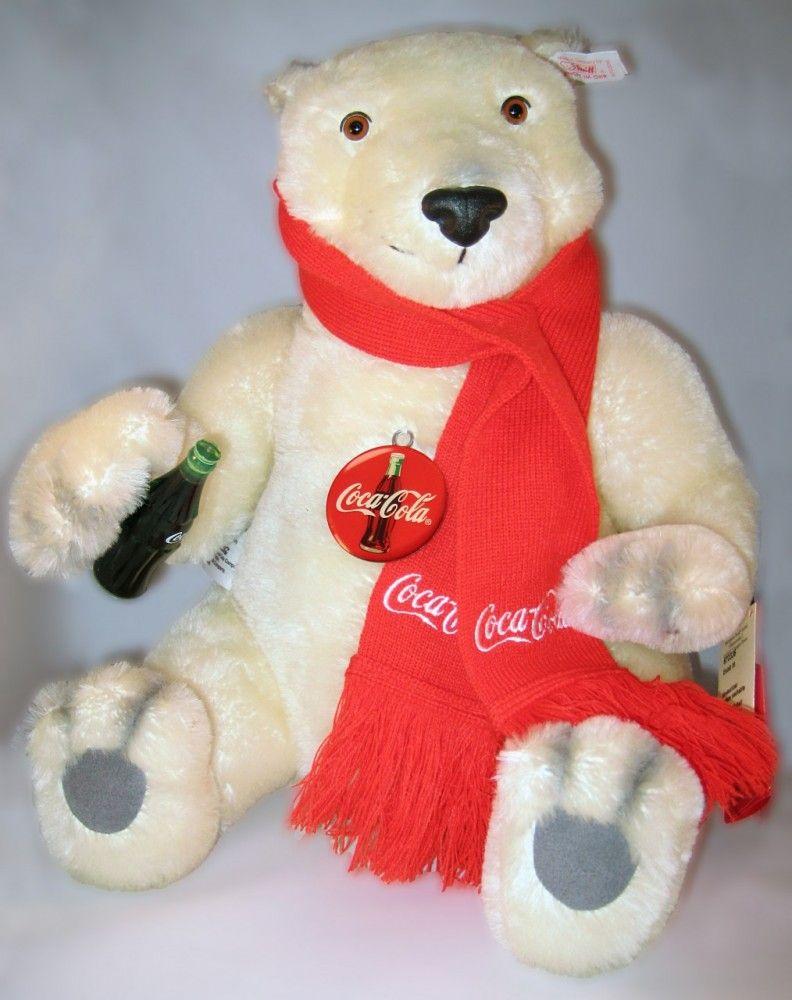 Steiff Coca Cola Polar Bear    http://www.theonestopfunshop.com/steiff-coca-cola-polar-bear