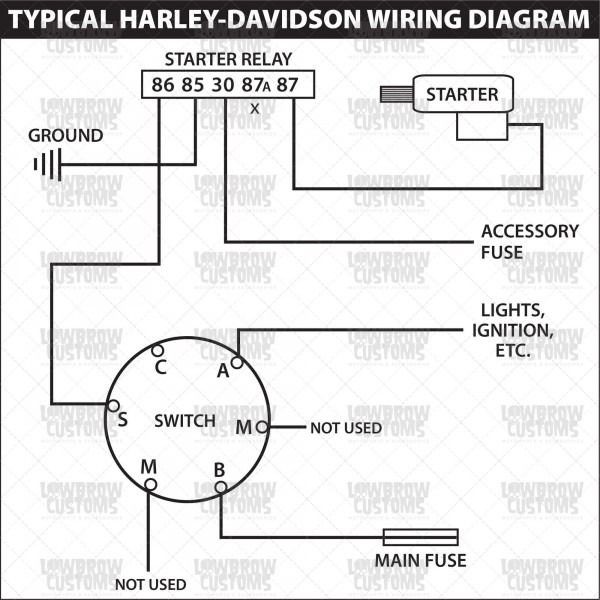 4 wire ignition switch diagram  electrical wiring diagram
