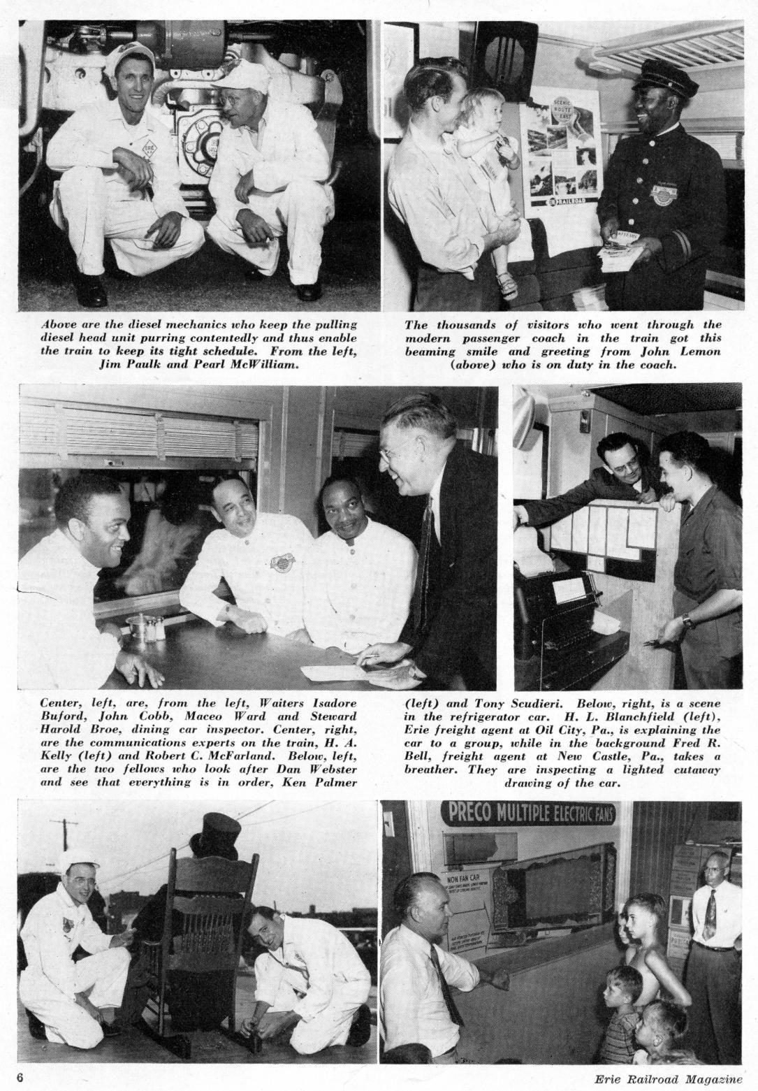 Miss Chicago   Erie Railroad Magazine Employee Master Index
