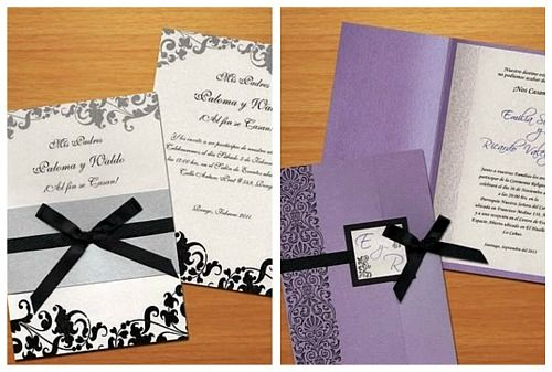 invitaciones para boda originales y elegantes Hoy existen - invitaciones para boda originales