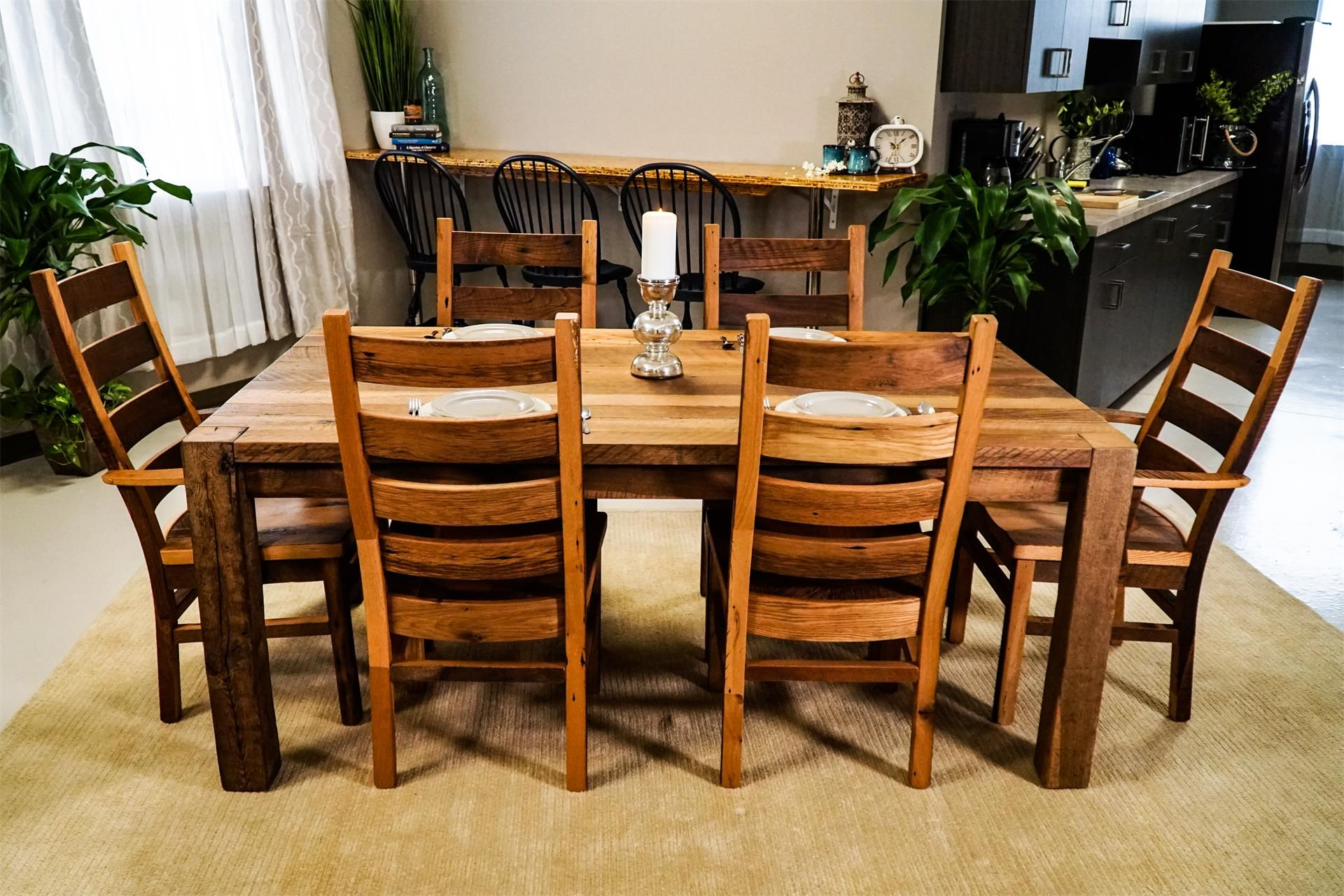 Images about old barn wood furniture on pinterest - Amish Reclaimed Wood Furniture