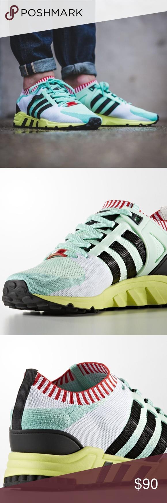 Adidas EQT Support 93 RF PK Primeknit Running Shoe Adidas ID