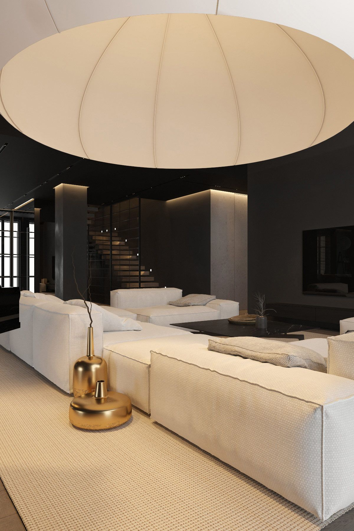 Decorating With Light: 3 Dark Interiors With Inspirational Home Lighting